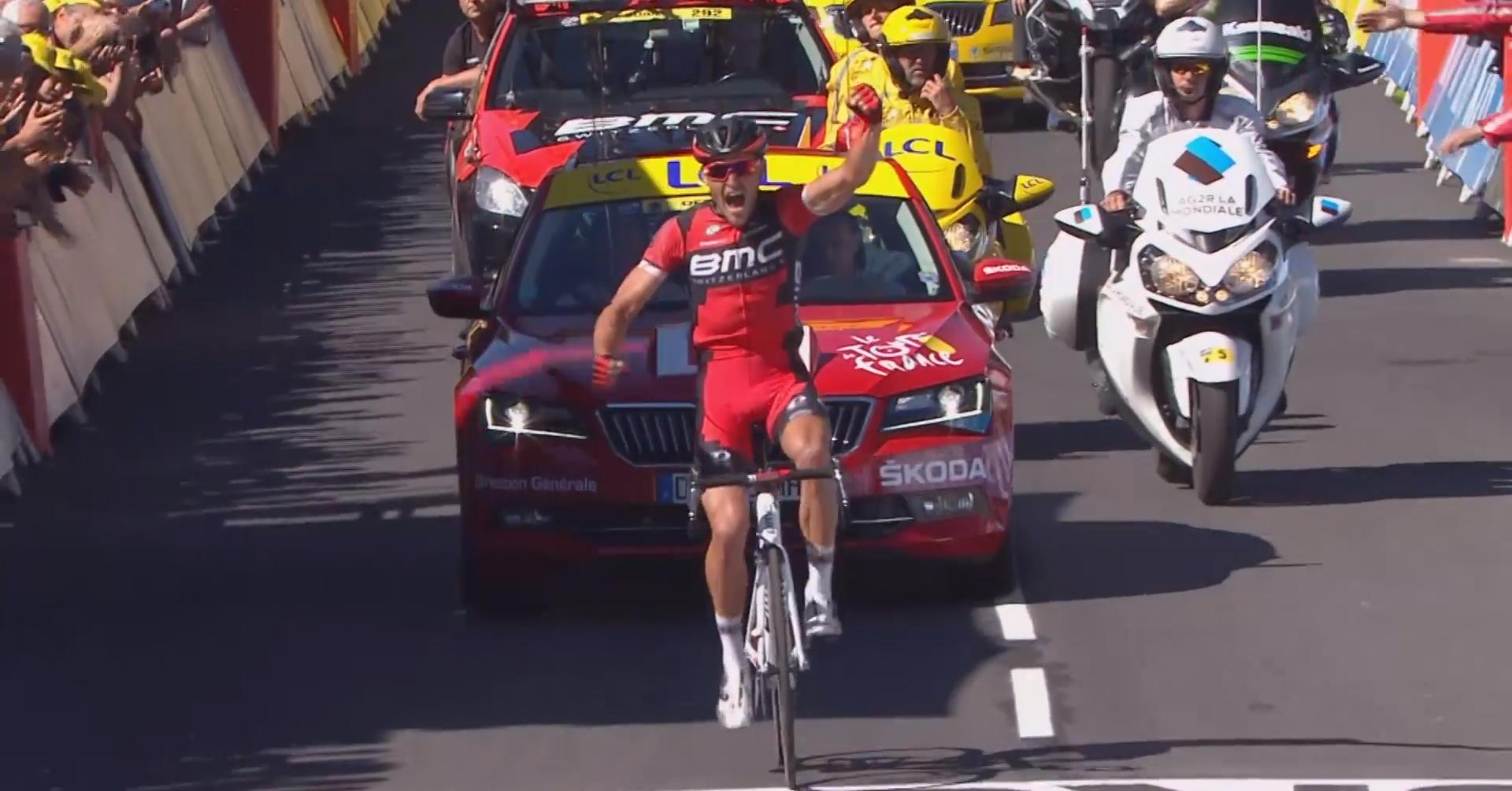cb859bfc0f4a5 Prvú kopcovitú etapu ovládol Belgičan Greg van Avermaet, Sagan ...